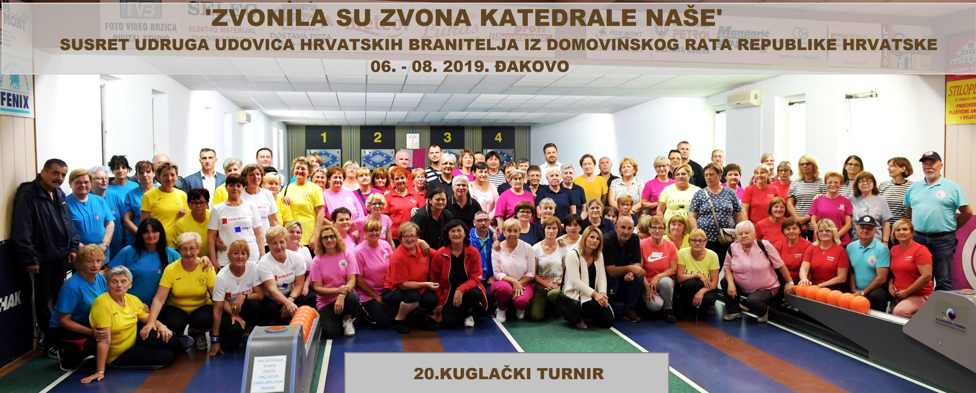 Susret Udruga udovica hrvatskih branitelja , 06. – 08.09.2019.